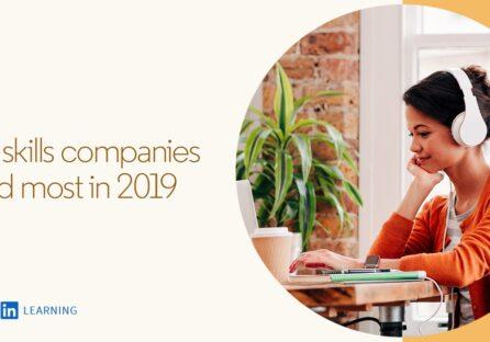 Топ-5 затребуваних навичок у 2019 році за версією LinkedIn