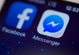 Чорний фон з'явився у Facebook Messenger.
