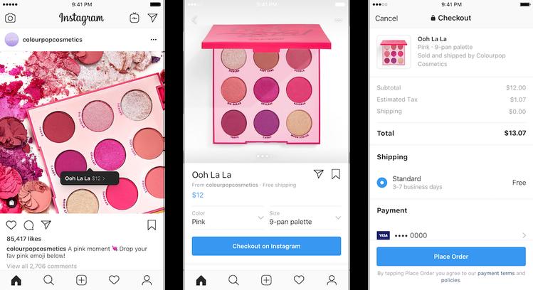 Instagram запустив покупки в додатку - social-media, news