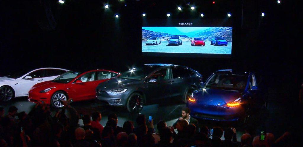 Tesla показала новий електрокар - кросовер Model Y - tech, news