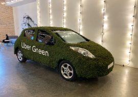Uber запустив в Києві сервіс поїздки на електрокарах Uber Green: ціни – від 55 грн