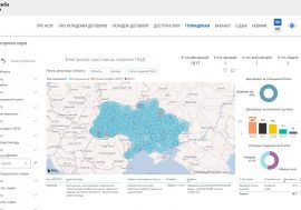 Електронна карта установ, які надають першу медичну допомогу запрацювала в Україні