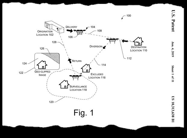 Amazon запатентував дронів-патрульних для спостереження за житловими будинками - news, gadzhety
