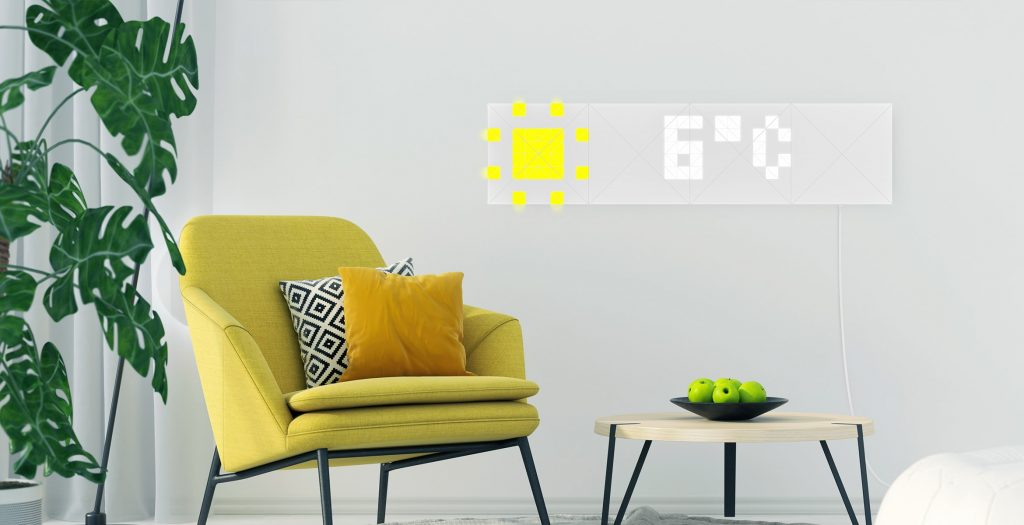 LaMetric відкрив передзамовлення на свій новий продукт - настінні LED-панелі Sky - tech, news