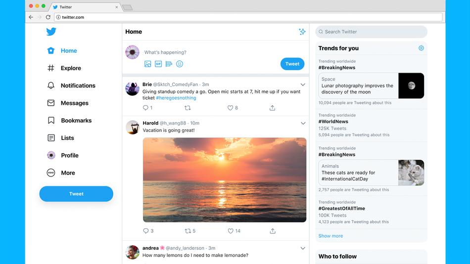 Twitter переведе користувачів на новий дизайн сайту - social-media, news