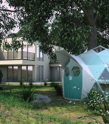 Будинок майбутнього з біокераміки: стійкий до пожеж, повеней і землетрусів