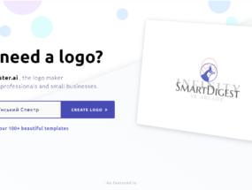 Як створити унікальний логотип онлайн використовуючи Logomaster.