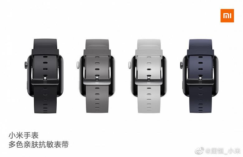 Xiaomi показала розумний годинник. Вони нагадують Apple Watch і дозволяють телефонувати - news, gadzhety