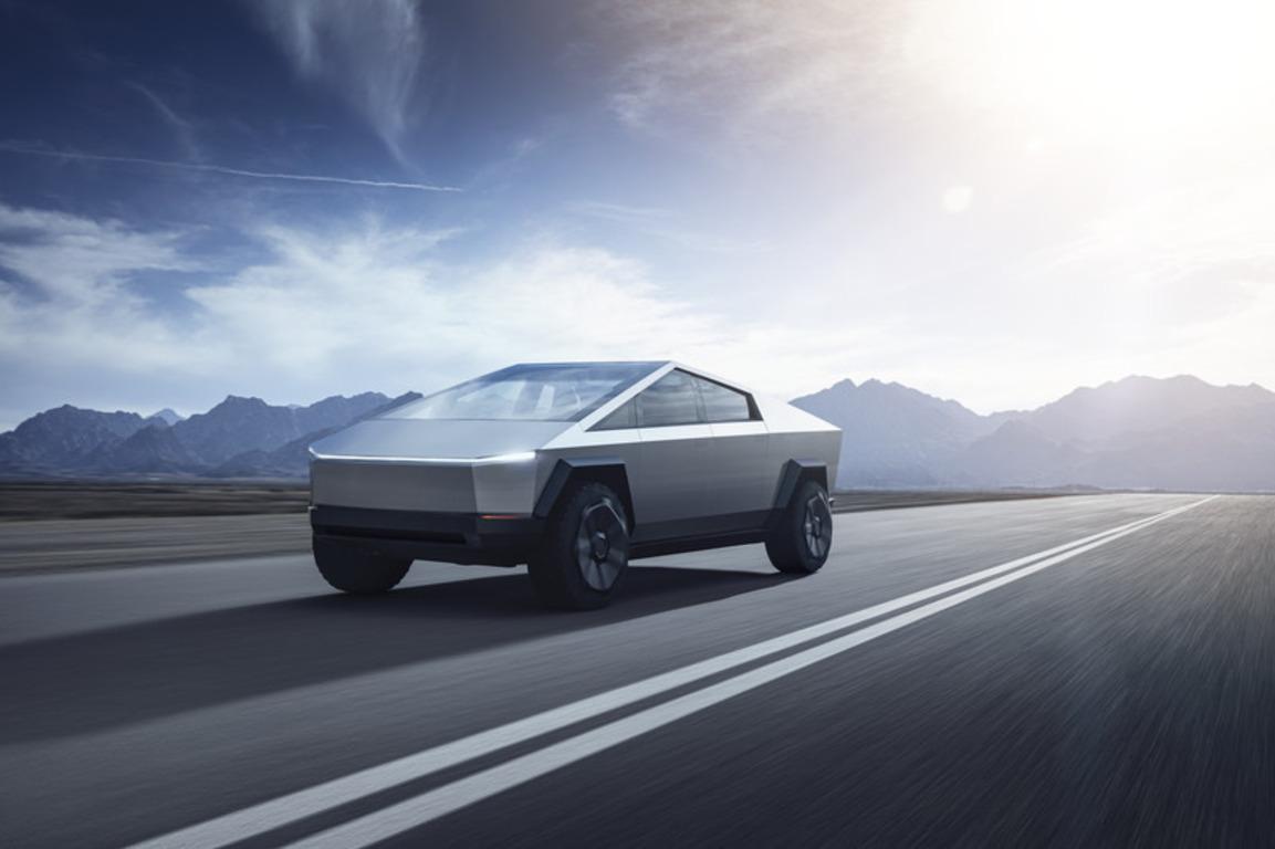 Tesla представила електричний пікап Cybertruck - transport, tech, news