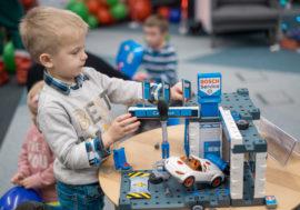 Bosch офційно презентувала іграшки для дітей Bosch Mini