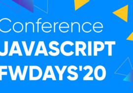 Конференція JavaScript fwdays'20, 14 березня в Києві!
