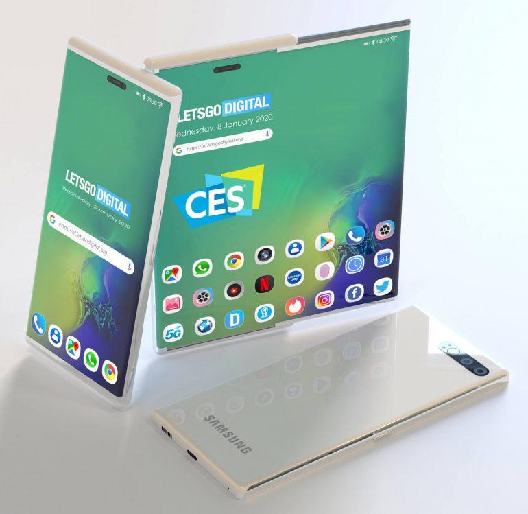 Samsung показала новий тип смартфона на CES 2020 - news, gadzhety