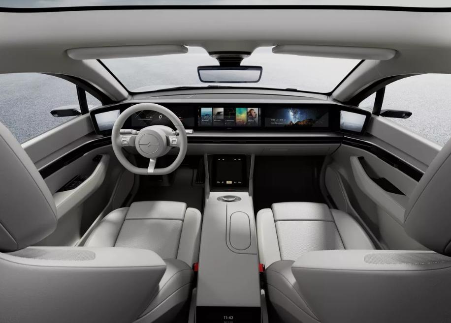 Sony показала свій перший електромобіль Vision-S - transport, tech, news