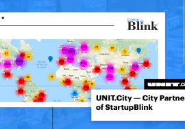 UNIT.City став ексклюзивним партнером StartupBlink