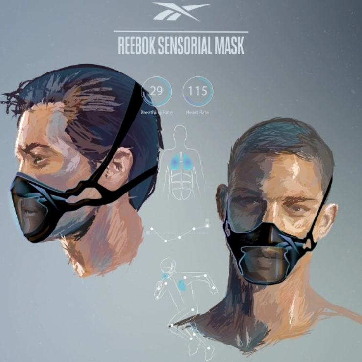 Reebok показала маски для спорту. Вони повністю покривають голову і містять мох для очищення повітря - news, bezpeka