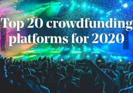 20 краудфандингових платформ