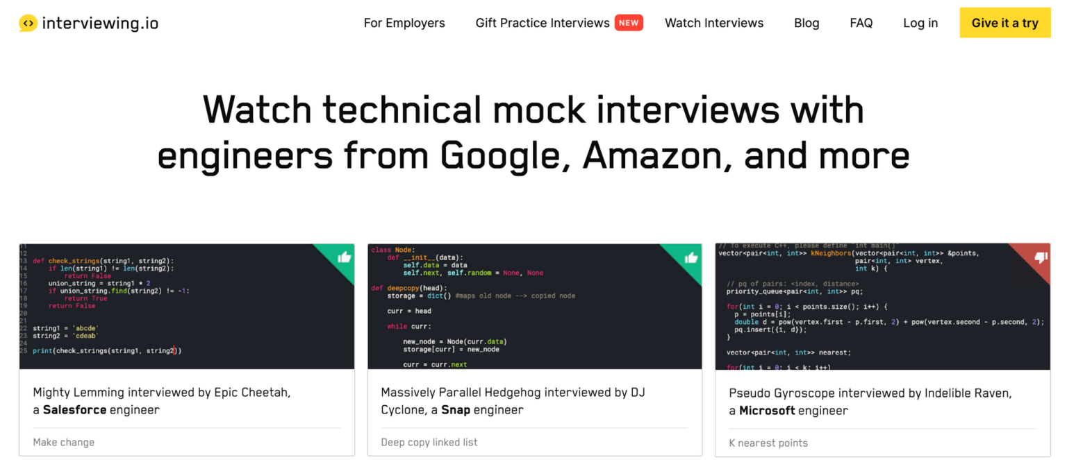 Найкращі платформи для підготовки до технічних співбесід - tech, developers, news, career