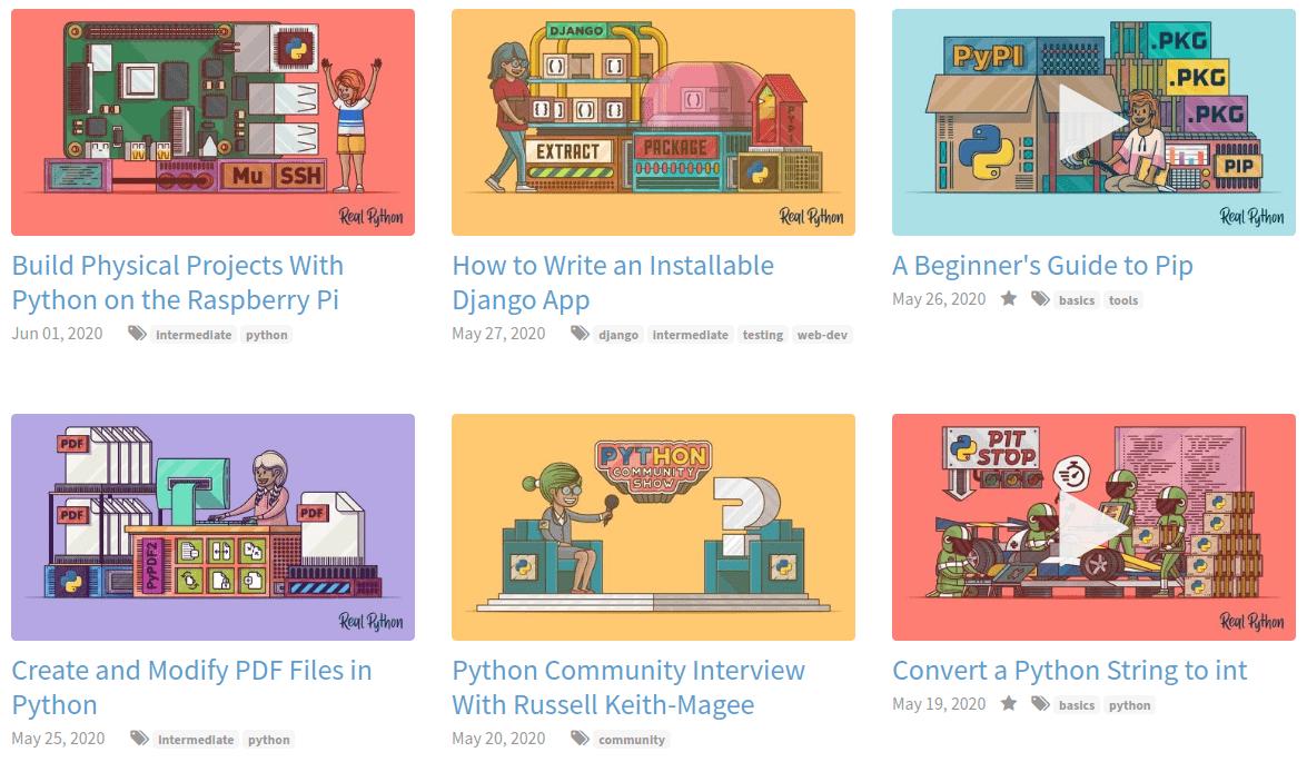 20 найкращих сайтів для вивчення Python - tech, developers, news, career