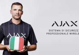 Андрій Шевченко — новий амбасадор Ajax Systems на італійському ринку