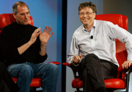 Білл Гейтс: Стів Джобс був генієм і я йому заздрив