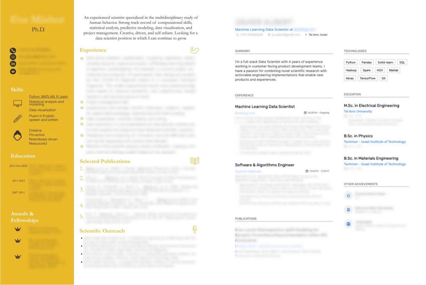 Складаємо резюме дата-сайентіста: сім пунктів, які обов'язково привернуть увагу - porady, news, career