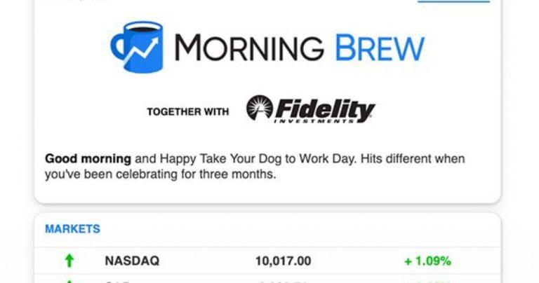 Розсилку Morning Brew оцінили в $75 млн. На чому вона заробляє - news, online-marketing, investytsiyi, groshi