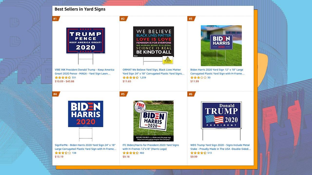 Мерч Трампа і Байдена: які речі найкраще продаються на Amazon - tech, news, business