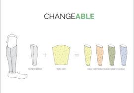 На Іграх Нескорених представили дизайнерські кавери для протезів