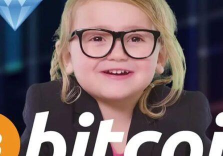 Це маленька Лілі, 3-річна дівчинка, яка пояснює що таке біткойн на прикладі солодощів (Відео)