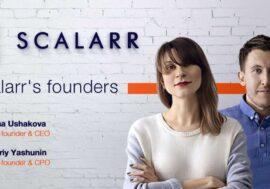 Українська компанія Scalarr підняла $7,5 млн в ході раунду А