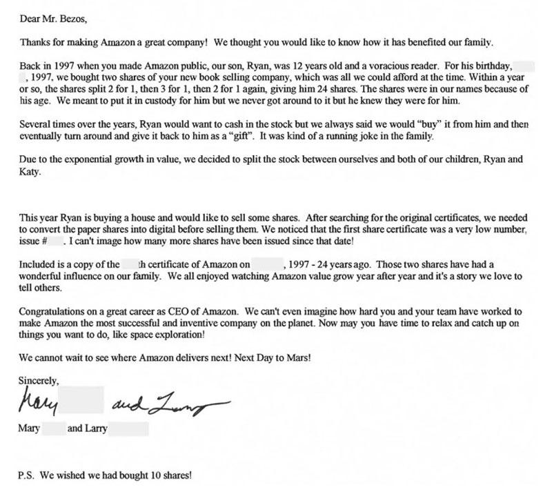 Останній лист Джеффа Безоса в ролі директора Amazon до акціонерів - home-top, tech, news, business