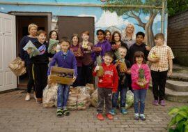 OVO.ua здійснила благодійну доставку в дитячий будинок сімейного типу «Моя родина»