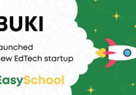 Сервіс BUKI запустив EdTech-стартап EasySchool, орієнтований на шкільну освіту