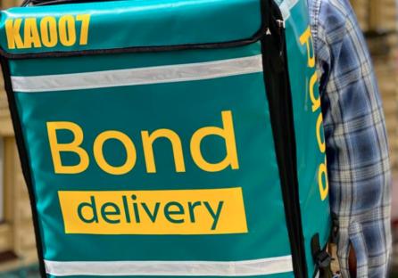 У Києві запустилася цілодобова доставка їжі Bond Delivery