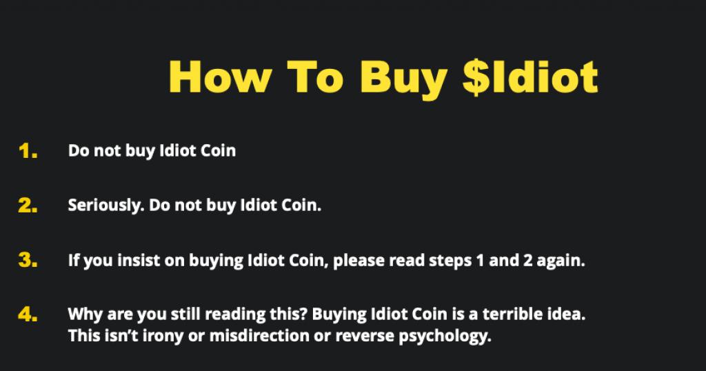 Репортер The New York Times випустив свою криптовалюту - Idiot Coin. Її захотіли купити понад 300 осіб - tech, news, kryptovalyuta