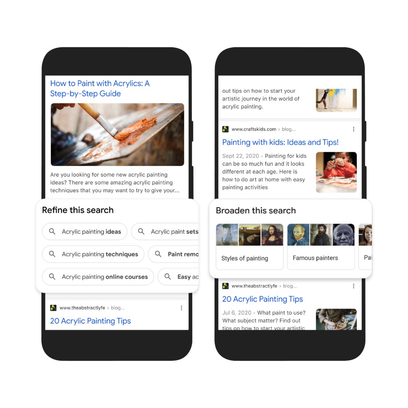 Пошук одночасно по фото і тексту, добірки для натхнення і вітрини товарів: Google анонсувала оновлення пошуку - tech, news