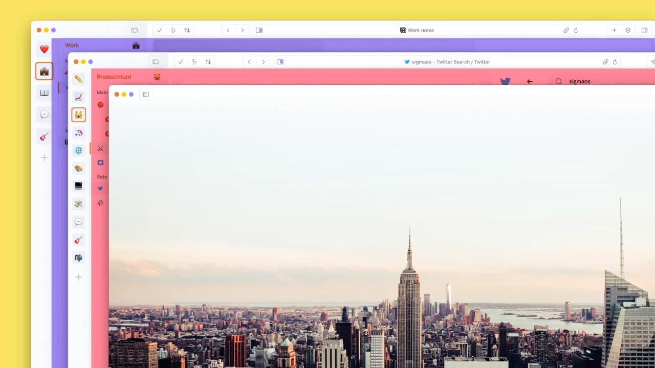 Немає вкладок і одне робоче вікно, щоб менше відволікатися: як влаштована «радикальна» модель браузера SigmaOS - tech, social-media, news